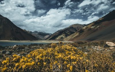 A Cordilheira dos Andes no Chile!