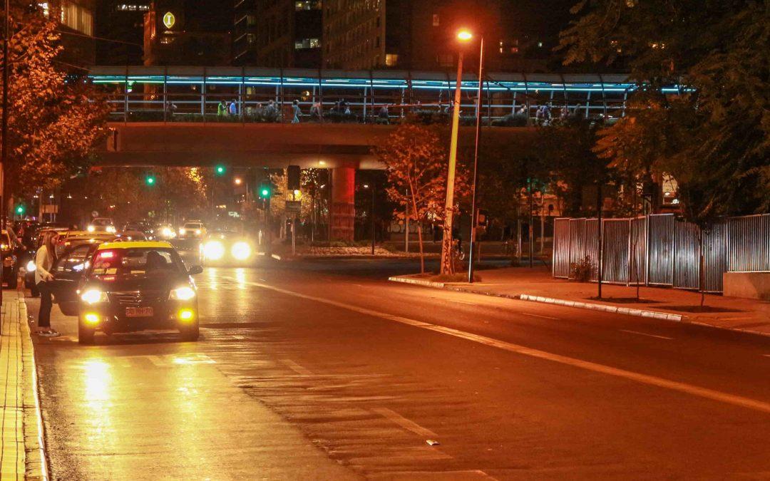 As más experiências com táxi em Santiago do Chile